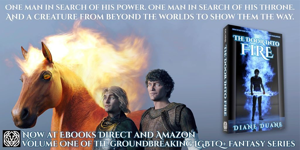 Out at Ebooks Direct and Amazon: The Door Into Fire