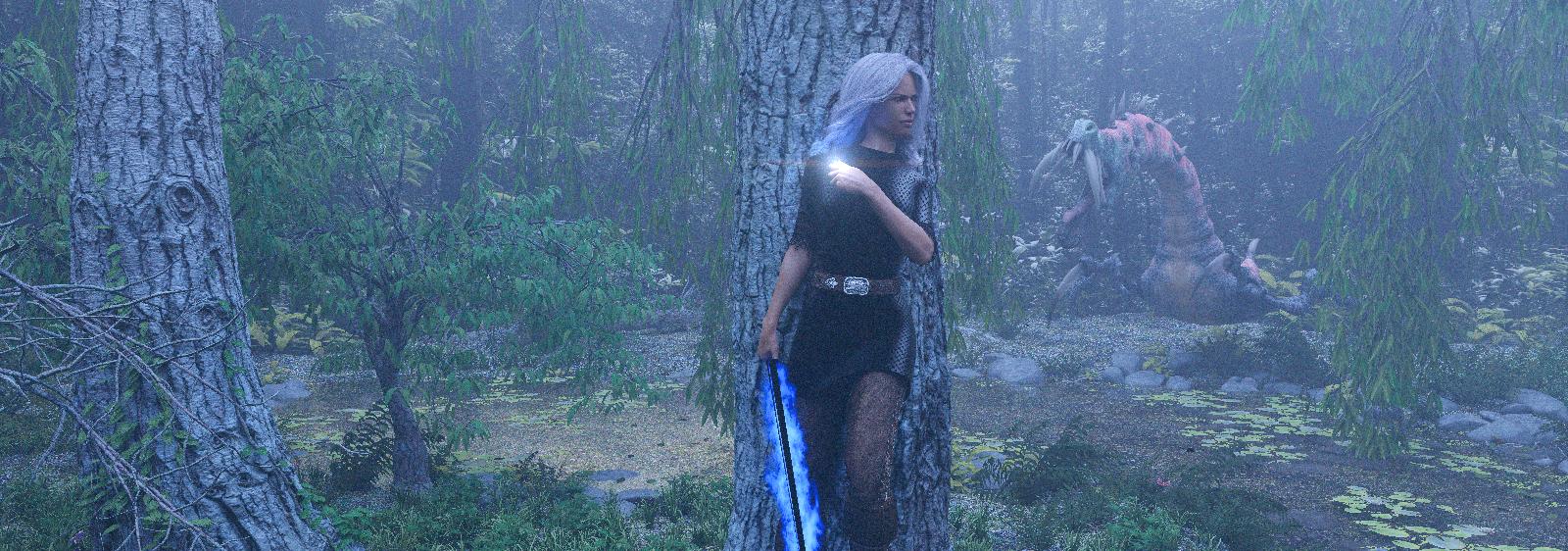 Segnbora goes hunting