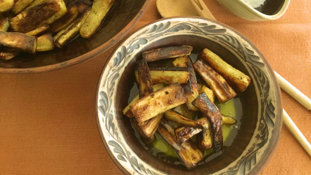 Arlene-style Roast Parsnips