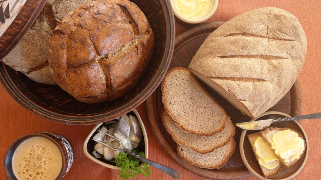 Maslin-style country bread